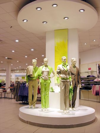 store display: mannequins Stock Photo
