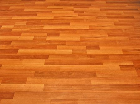 laminated flooring Stock Photo