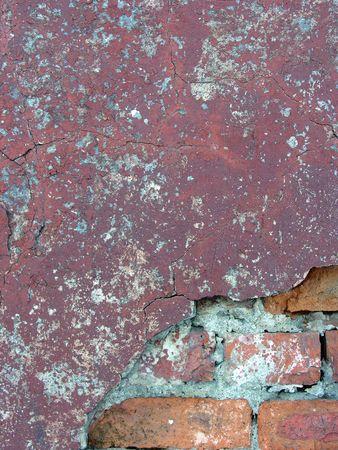 suffusion: old brick wall 5 Stock Photo