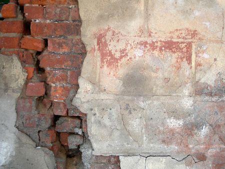 suffusion: old brick wall