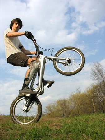 Mountain Biker Stock Photo - 424836