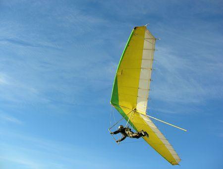 gliding: hangglider