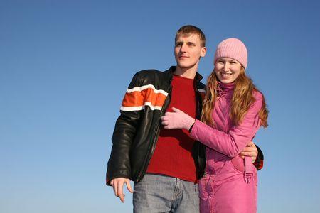 winter couple 3 Stock Photo - 426151