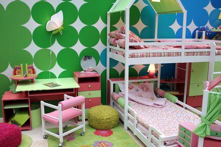 babyish: childs room Stock Photo