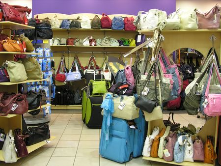 bags in shop Stock Photo - 426112