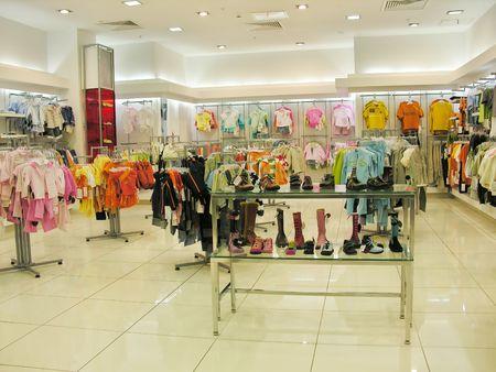 child clothes shop photo