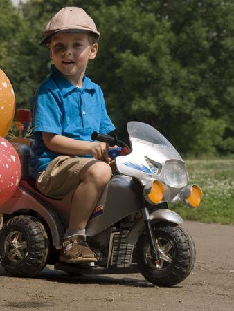child and bike toy Stock Photo - 547902