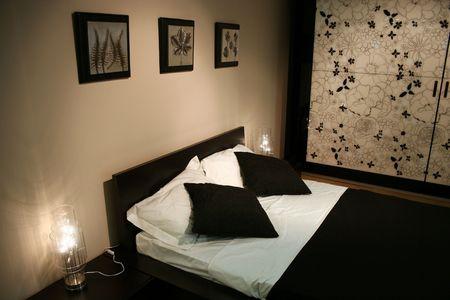blackwhite bedroom photo
