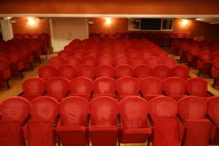lonliness: theatre chair