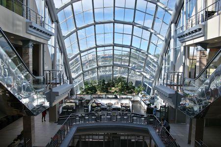 mega mall window
