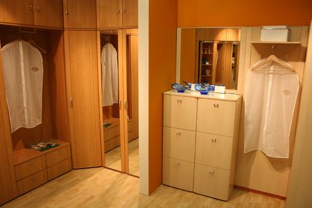 walk in closet: dressing room 2