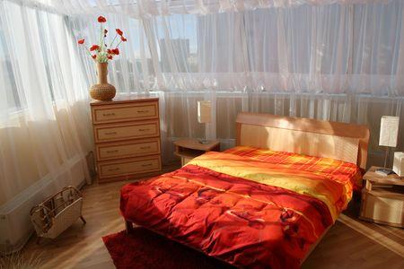 big window: slaapkamer met groot venster