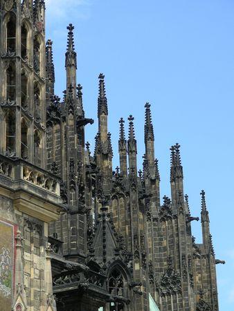 vitus: Saint Vitus Cathedral in Prague, Czech Republic