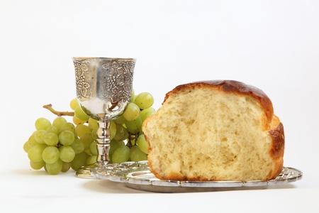 comunion: Sagrada Comuni?Las uvas del pan y el vino