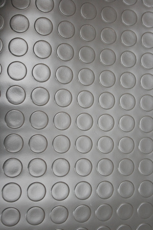 treadplate: Stainless-steel treadplate with a somewhat unusual tread pattern.