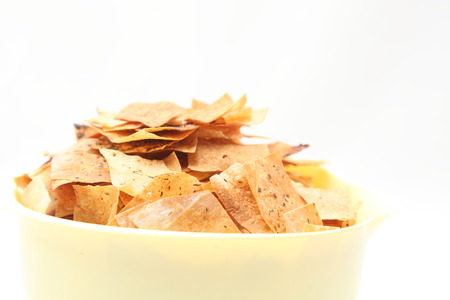 Chips in a bowl photo
