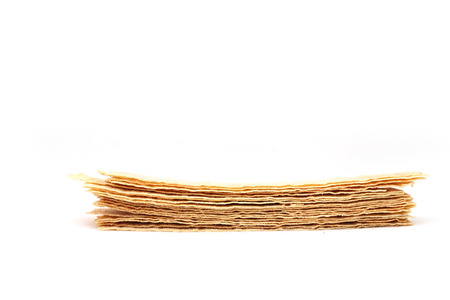 potato chips on a white background photo