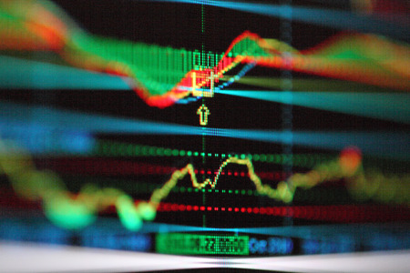 candlestick: Foreign exchange market chart