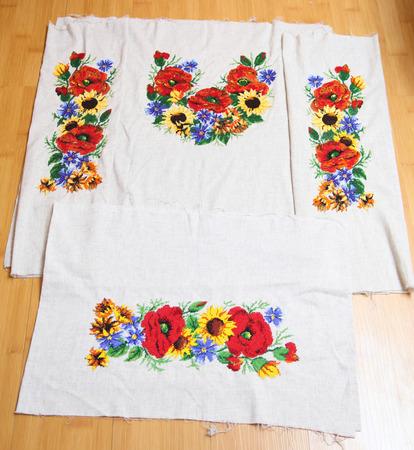 ukrainian: Ukrainian embroidery pattern beading