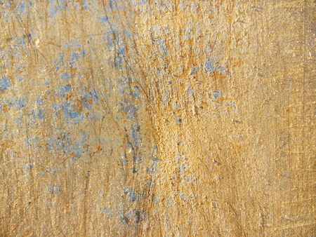 caked: Grunge background: dirt-encrusted metal plate at a construction site Stock Photo
