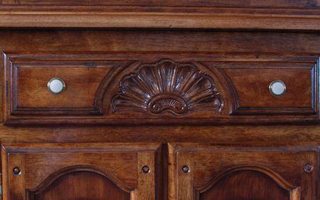 furniture hardware: Centro de caj�n de una antigua china gabinete