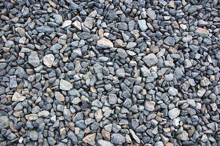 gray crushed stone background (gravel) Stock Photo - 630166