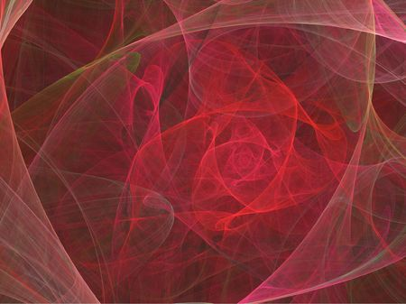romance bed: Abstract rose background illustration