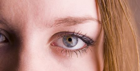 beauty female eye closeup Stock Photo - 790854