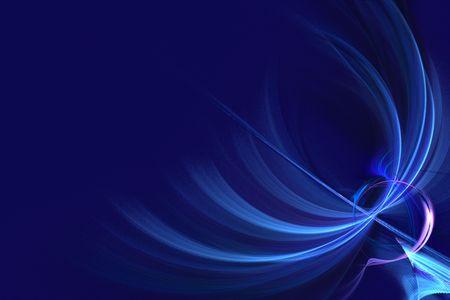 Abstract blue background  illustration Stock Illustration - 899143