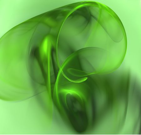 green abstract composition photo