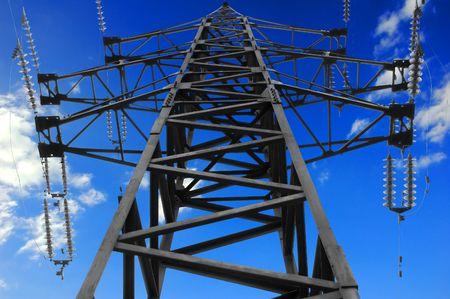 Hight voltage tower
