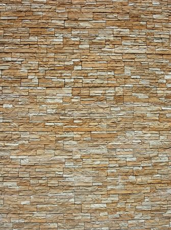 wall pattern decoration with natural stone surface Stock Photo