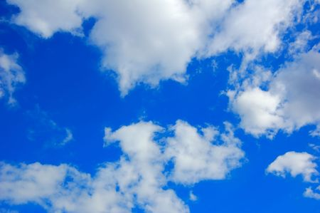 blue sky with clouds Stock Photo - 924942