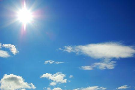 Sunny sky photo