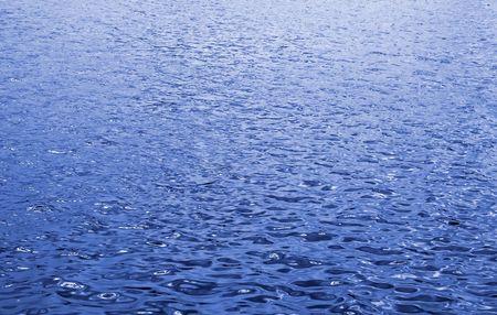 水の中の反射光 写真素材