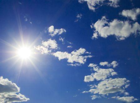 cloud scape: Sunny sky