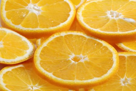 oranges background Stock Photo - 970452