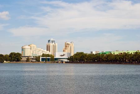 condos: View of quay wharf embankment Yekaterinburg City