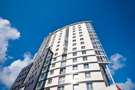 apartment-blok Stockfoto