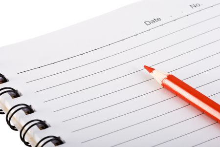 Empty notepad - you can simply add your text Stock Photo - 2713860