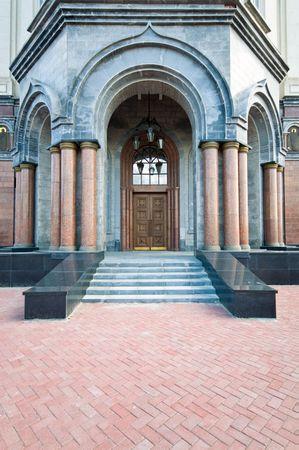 doorway entrance to chapel photo