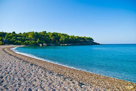 coast line: blue lagoon landscape