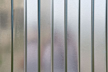 Abstract metal texture with horizontal vertical lines. Stock Photo - 3304856