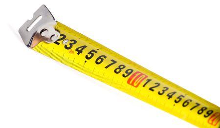 Tape Measure on white background Stock Photo - 3468635