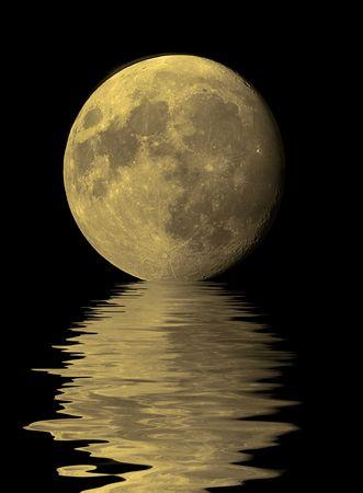 moon rise Stock Photo - 3838029