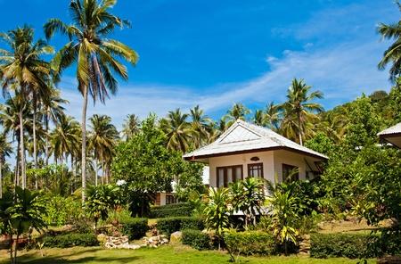 Tropical beach house on the island Koh Kood, Thailand  Stock Photo - 14803167