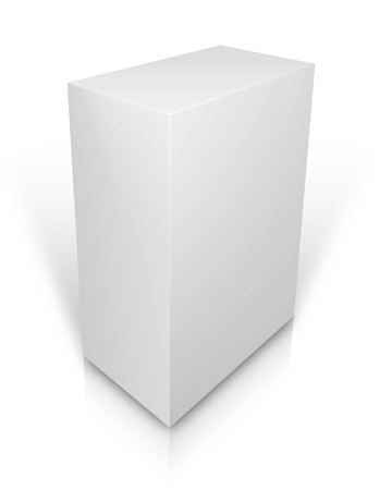 ebox: High-res blank box over white You can fill in your own graphic