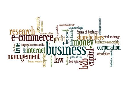 b2b: B2B Business to business - nube de la palabra