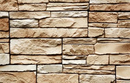 dry stone: Stone wall texture Stock Photo