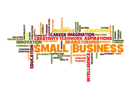 small business: small business concept word cloud